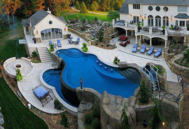 Luxury Home Pool Designs
