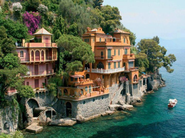 Seaside Villas near Portofino, Italy