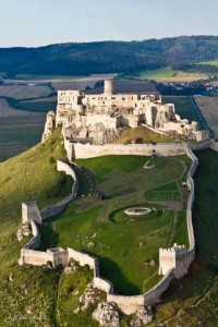 Spis, one of the world´s biggest castles, Slovakia