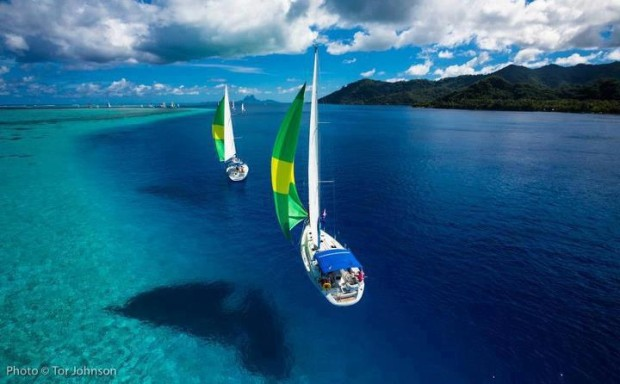 The Pearl Regatta in TahitiThe Pearl Regatta in Tahiti