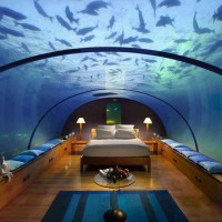 Underwater Bedroom, The Hilton Hotel and resort, Maldives