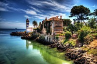 An incredible view of Cascais – a gorgeous little coastal town in Portugal