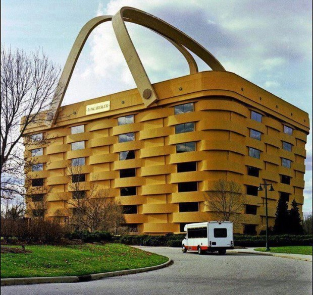 Giant Basket Building in Ohio State, USA