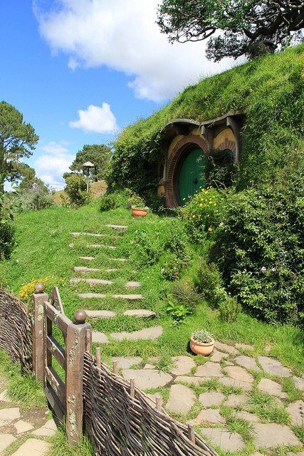 Hobbit House , Matamata , New Zealand