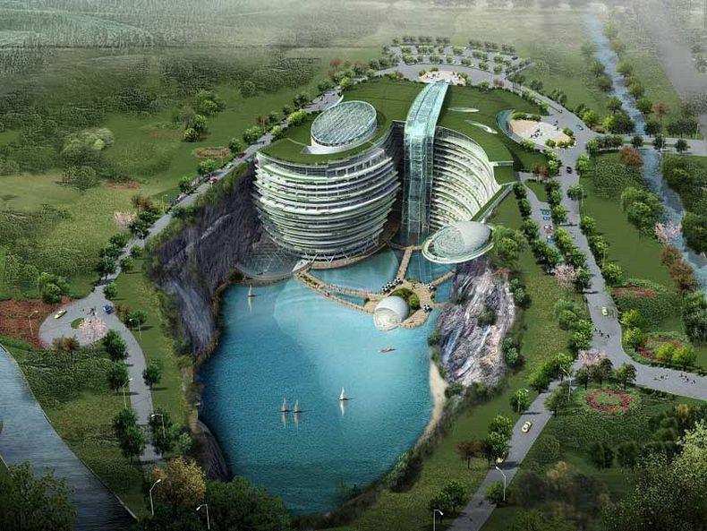 Simply Gorgeous - Underground Resort in China