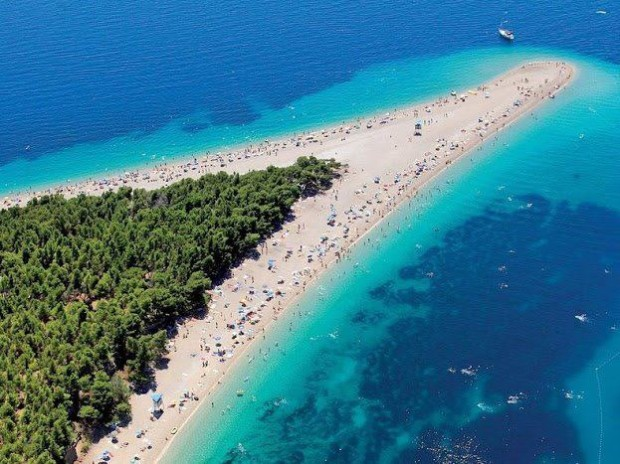 The Golden Horn Beach, Croatia