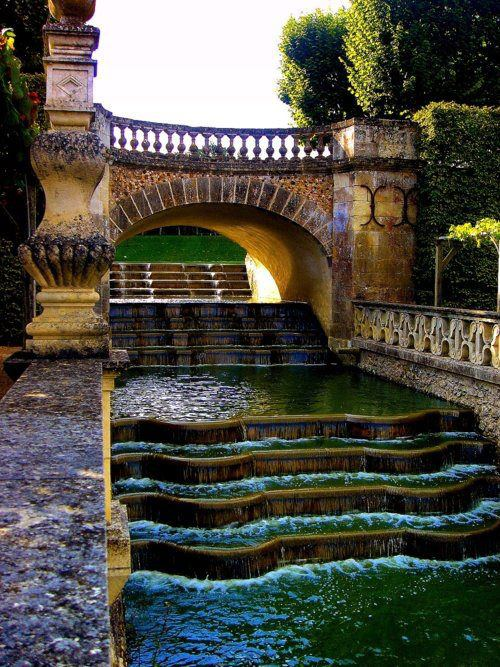Waterfall Gardens , Villandry , France