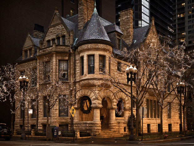 19th Century Victorian House , Chicago , Illinois , USA