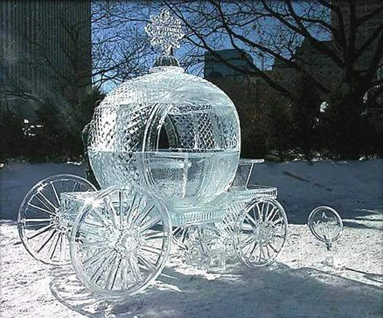 Amazing Ice Sculpture in China