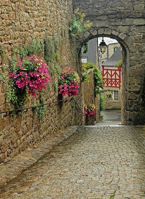 Ancient Passage, Brittany, France