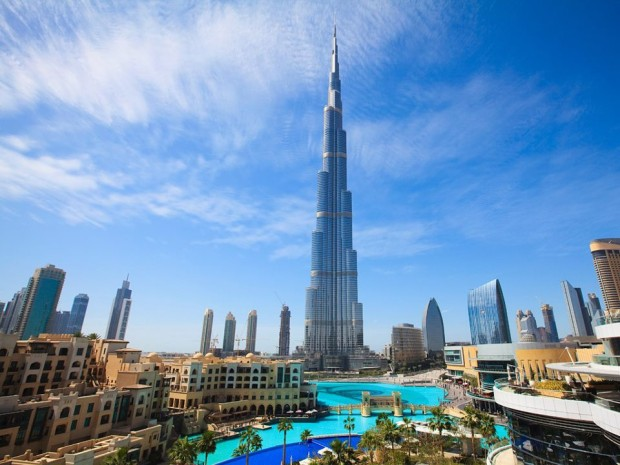Burj Khalifa  UAE     The Tallest Building in the WorldUae Tallest Building In The World