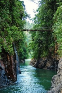 Canyon of Rio Pacuare in Cordillera de Talamanca, Costa Rica