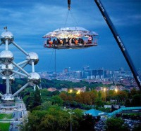 Dinner in the sky , Belgium