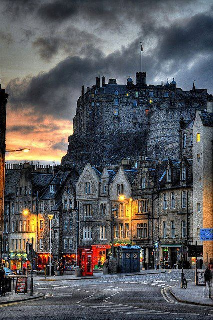 Edinburgh Castle , Scotland
