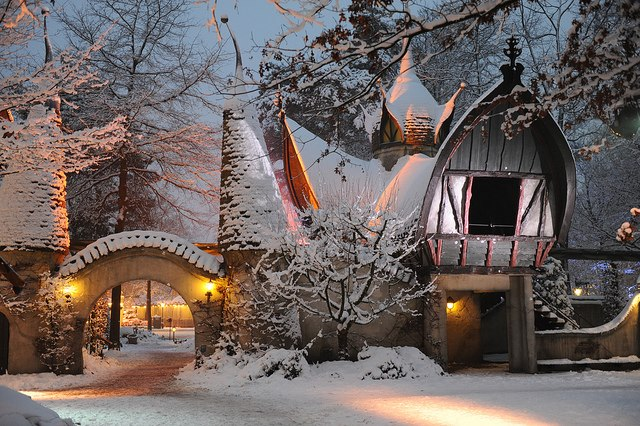 Fairy Tale Village , Efteling , The Netherlands