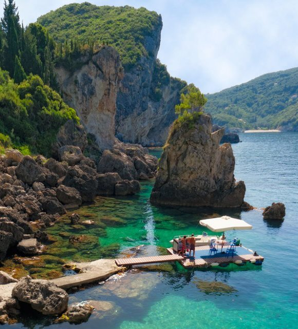 La Grotta Cove , Greece