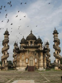 Mohabbat Maqabara Palace in Junagadh , Gujarat , India