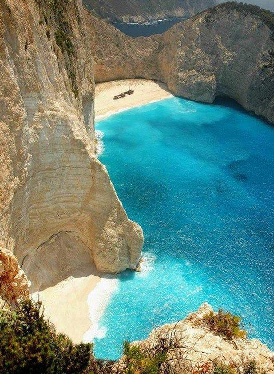 Navajo Cove , Probably the most beautiful bay in Greece