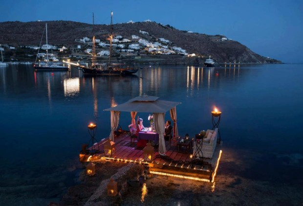 Romantic Escapes in Mykonos , Greece