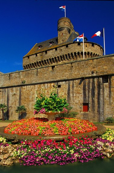 Saint Malo Castle, Brittany, France