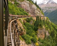 Scenic Railroad , Alaska , USA