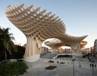Seville, Spain, Metropol Parasol, Largest Wood Structure in the World