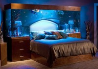 Supposing sleep will be calm and quiet under this aquarium
