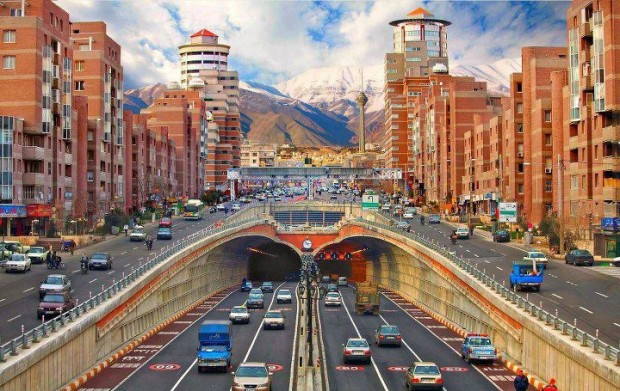 Tohid Tunnel in Tehran , Iran