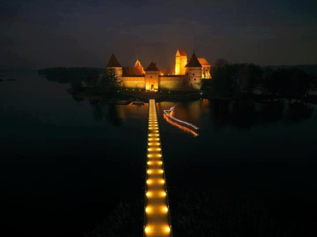 Trakai castle , Lithuania