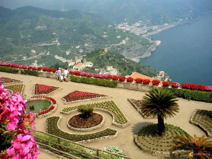 Villa Rufolo is a building within the historic center of Ravello, a town in the province of Salerno, Italy