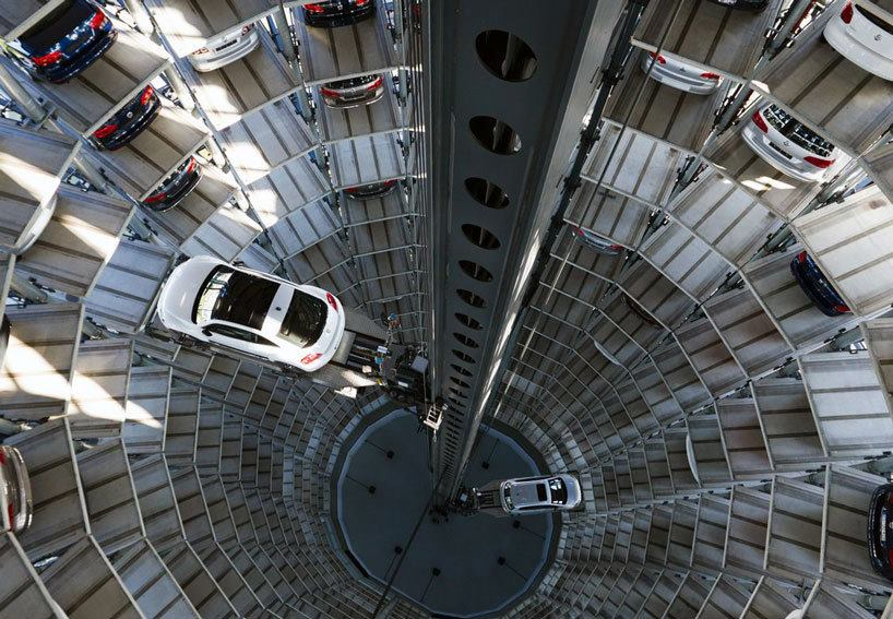 Volkswagen Car Parking Tower -Wolfsburg , Germany