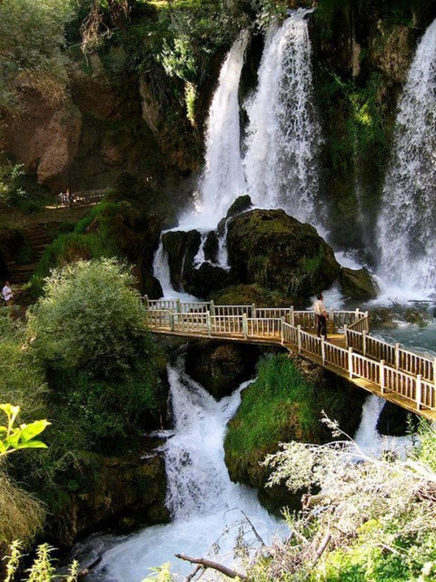Wonderful Waterfall , Sivas , Turkey