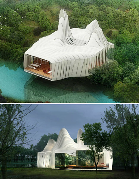 'Bird Island' Sustainable Home