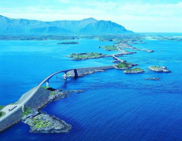 Atlantic Road , Norway