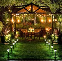 Backyard Lighting Design Ideas