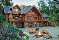 Beautiful Dream Log Cabin