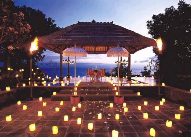 Candlelight Romantic Dinner, Bali, Indonesia