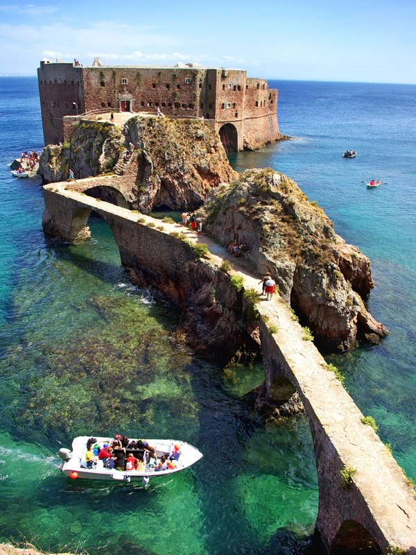 Fort de Saint John the Baptist , Berlengas Islands , Peniche , Portugal