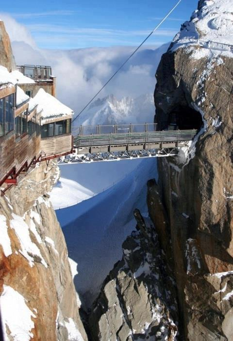 Highest Point in Europe , du Midi , Chamonix , France