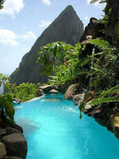 Infinity Pool , St. Lucia , The Caribbean
