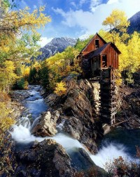 Old Mill, Crystal, Colorado, USA