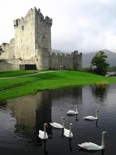 Ross Castle, near Killarney, Co. Kerry, Ireland