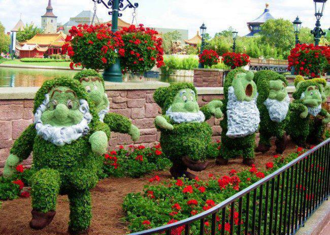 The Seven Dwarfs Garden