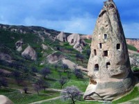 The Fairy Chimneys and Underground Cities of Cappadocia, Turkey