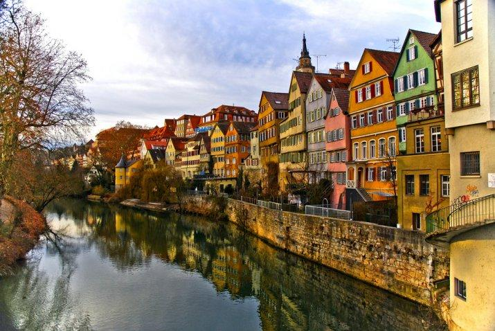 Tübingen old town in Baden-Wurttemberg, Germany