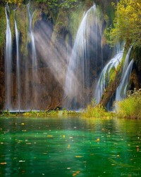 Plitvice lakes , National Park , Croatia