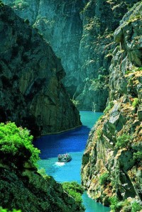 Rocky Canyon , Douro River , Portugal