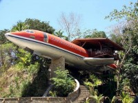 Airplane Restaurant , Costa Rica
