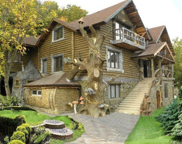 Fairy Tale House, The Enchanted Wood