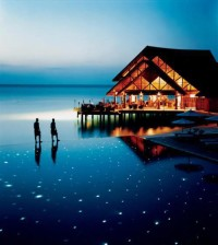 The Fuddan Fushi Grill at Anantara Resort , Maldives